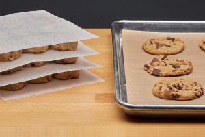Cookie Dough and Bakery Paper